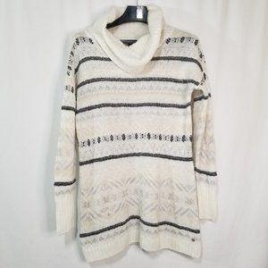 Eddie Bauer sparkle wool blend sweater